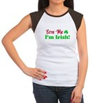 Bite Me I'm Irish Women's Cap Sleeve T-Shirt