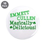 "Emmett Magically Delicious 3.5"" Button (10 pack)"