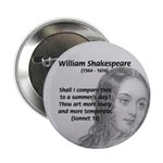 "Shakespeare: Beauty of Juliet 2.25"" Button (10 pac"