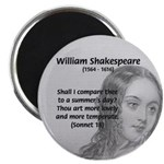 "Shakespeare: Beauty of Juliet 2.25"" Magnet (10 pac"