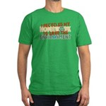 Recycled Homework Men's Fitted T-Shirt (dark)
