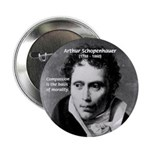 "Arthur Schopenhauer Truth 2.25"" Button (10 pack)"