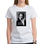 Schopenhauer Philosophy Truth Women's T-Shirt