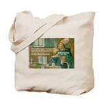 Saint Augustine of Hippo Tote Bag