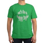 Do It Froggy Style Men's Fitted T-Shirt (dark)