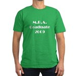 MBA Graduate 2009 Men's Fitted T-Shirt (dark)