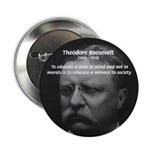 "President Theodore Roosevelt 2.25"" Button (10 pack"