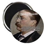 """President Theodore Roosevelt 2.25"""" Magnet (100 pac"""