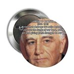 American President FDR Button