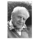 Philosophy Karl Popper Large Poster