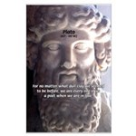 Dialogues of Plato Poet in Love Large Poster