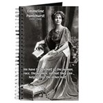 Suffragist Emmeline Pankhurst Journal