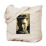Orwell Big Brother 1984 Tote Bag