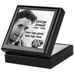 Modern Fable Writer Orwell Keepsake Box