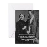 Nietzsche Love Madness Reason Greeting Cards (Pack