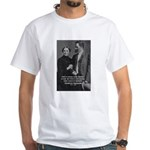 Nietzsche Love Madness Reason White T-Shirt