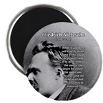 "Vanity God and Nietzsche 2.25"" Magnet (100 pack)"
