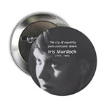 "Iris Murdoch Equality 2.25"" Button (100 pack)"