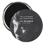 "Iris Murdoch Equality 2.25"" Magnet (100 pack)"