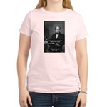 Irish Poet: Thomas Moore Women's Pink T-Shirt