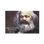 Karl Marx Religion Opiate Masses Rectangle Magnet