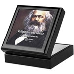 Karl Marx Religion Opiate Masses Keepsake Box