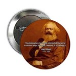 "Power of Change Karl Marx 2.25"" Button (10 pack)"