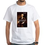 Philosophy John Locke White T-Shirt