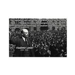 Vladimir Lenin Revolution Rectangle Magnet (10 pac