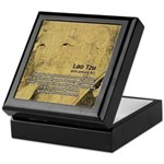 Law of Nature: Lao Tzu Keepsake Box