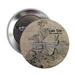 "Lao Tzu: Being One 2.25"" Button (100 pack)"