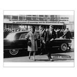 Education John F. Kennedy Small Poster