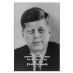 Power of the Idea JFK Large Poster