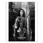 Heroine / Saint Joan of Arc Small Poster