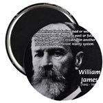 "Pragmatic William James 2.25"" Magnet (10 pack)"