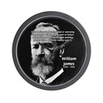 Pragmatic William James Wall Clock