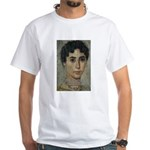 Wisdom of Greece: Hypatia White T-Shirt