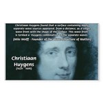 Huygens Combination Rectangle Sticker