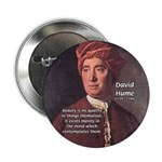 "David Hume on Beauty 2.25"" Button (100 pack)"