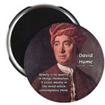 "David Hume on Beauty 2.25"" Magnet (100 pack)"