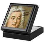 Handel's Messiah Keepsake Box