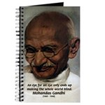 Peace Activist Gandhi Journal