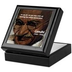 Peace Activist Gandhi Keepsake Box
