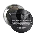 "Social Criticism: Foucault 2.25"" Button (10 pack)"