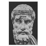 Epicurus Self Control Large Poster