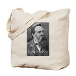Nature versus Humanity: Engels Tote Bag