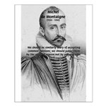 Individual Freedom Montaigne Small Poster