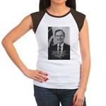 Politics George W. Bush Snr Women's Cap Sleeve T-S