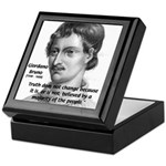 Freedom of Thought Bruno Keepsake Box