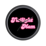 Twilight Mom Wall Clock
